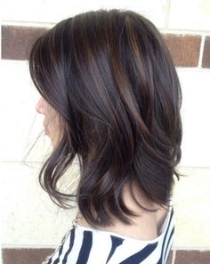 Love the subtle highlights and the length/cut