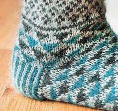 Ravelry: French Market Socks pattern by Nancy Bush