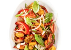 Tomato and Sweet Onion Salad - Bon Appétit