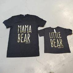 MaMa Bear Tshirt-Calamity Jane
