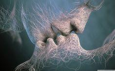 As if a kiss creates life