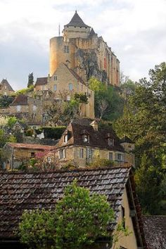 Castelnaud-La chapelle in France