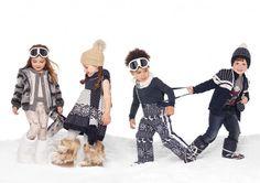 Docle & Gabbana kids ski trip gear