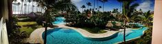 We're loving this panoramic view of the pool at #SecretsRoyalBeach! #DominicanRepublic #travel