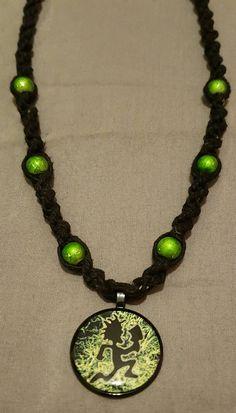 BioHazard Hatchet Man Handmade Hemp Necklace