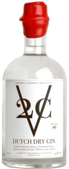 V2C Classic Dutch Dry Gin PD
