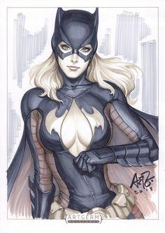 Batgirl by Artgerm | Stanley Lau