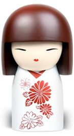 """Kimmidoll™ Kaori - 'Strength' - """"My spirit brings courage and resilience. I reveal myself within you in the face of challenge and adversity. Nurture my spirit and you will discover your power to survive and thrive."""""""