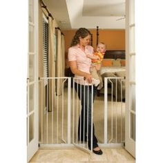 Regalo Extra Tall Widespan Gate, White $50.54