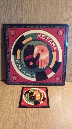 KETAMA. DAME LA MANO. LIBRETO/CD + DVD + PÓSTER. DISCOS CON USO / FIRMADO: ANTONIO.