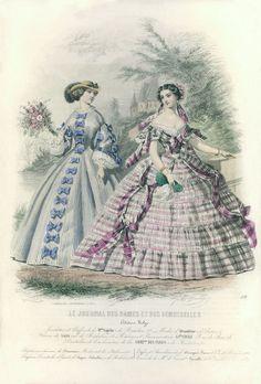 1858 - Le Journal des Dames et des Demoiselles