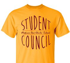 c6b22fa8c High School Impressions Custom Student Council T Shirts, - Create your own  design for t-shirts, hoodies, sweatshirts. Choose your Text, Ink and  Garment ...