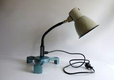Vintage Tischlampen - Schreibtischlampe - Arbeitslampe Industriedesign - ein…