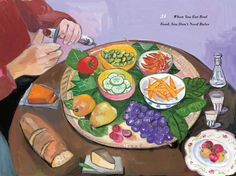 """""""when you eat real food, you don't need rules""""   michael pollan's """"food rules: an eater's manual""""  maira kalman's delicious art"""