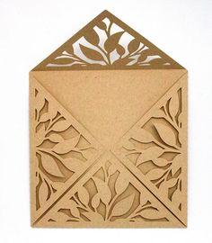 cut paper envelopes