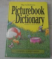 """Folio English Russian Children Kids BOOK Illustrated Picturebook Dictionary Thousand words to see & say by Lochtchinina """" 