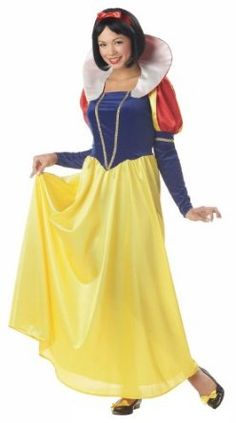 California Costumes Women's Snow White.  $21.73 - $58.22            Costume includes: Dress, Collar, Hair Ribbon