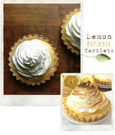 Lemon Meringue Tartlets | une Gamine dans la Cuisine