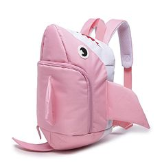 Amazon.com | Itopfox Lovely Cartoon Shark High Capacity Children School Bag Backpack | Kids' Backpacks