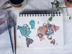 Watercolor world by alexahyman