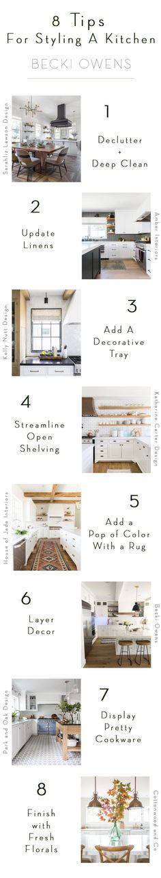 8 Tips for Styling Your Kitchen