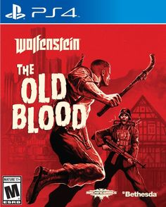 Wolfenstein: The Old Blood PS4 Physical Game Disc US
