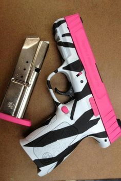 Pink Gun. Think this is a Glock? Lol