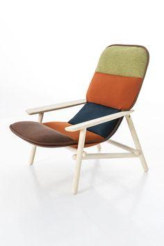 SCANDINAVIAN BEAUTY: LILO  ARMCHAIR / DESIGN PATRICIA URQUIOLA / BY MOROSO / YEAR 2015 | #designbest #magazine #interior #design #nordic |