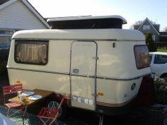 vintage eriba puck mini pop up 3 berth classic caravan hymer weston bristol old