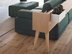 FRACTAL estudio + arquitectura: TWO BE: un híbrido entre un sofá y muebles auxiliares