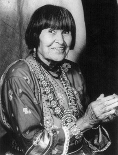 The grand dame of pueblo pottery.