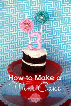 How To Make a Mini Cake