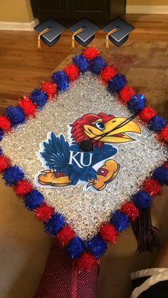 University of Kansas graduation cap