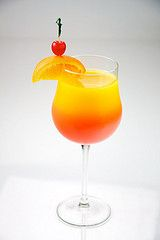 Non Alcoholic Cocktails for Pregnant Women - Tequiless Sunset
