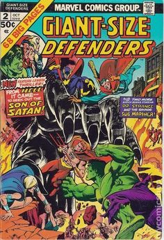 Giant Size Defenders (1974) comic books