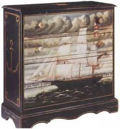 Nautical Chest of Drawers                                                       …