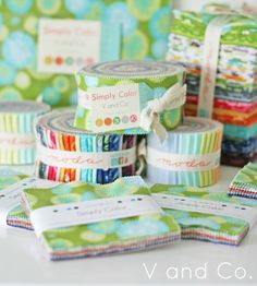 Simply Color by V and Co. for Moda