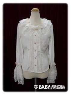 Baby, the stars shine bright Rosa Mistica princess sleeve blouse
