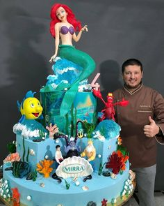 Ohmetoy Princess Toys Cake Toppers Tinkerbell Cinderella Mermaid Ariel Snow White Belle Rapunzel Baking Girl Birthday Gifts Making Things Convenient For The People Toys & Hobbies