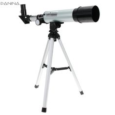 F36050M 360/50mm Refractive Astronomical Telescope with Portable Tripod Spotting Scope Outdoor Monocular Astronomical Telescopes