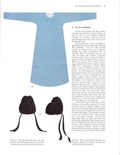 Men's dress in the Tang Dynasty.
