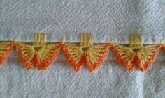 """◇ ◆ ◇ ☆ Tecidos e Croche = Pano de Prato ☆ - / ◇ ◆ ◇ ☆ Fabric & Croche = dish cloth ☆ - [ """"Butterfly edging; ◇ ◆ ◇ ☆ Tecidos e Croche = Pano de Prato ☆ - / ◇ ◆ ◇ ☆ Fabric & Croche = dish cloth ☆ -"""", """"Ro Jk ☆ Meus Crochês = Pano de Copa, hand towel. ☆"""" ] # # #Dishes, # #Lace, # #Crochet #Edgings, # #Butterflies, # #Fabrics, # #Cloths, # #Crochet, # #Tissues, # #Crafts"""