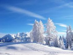 the most beautiful winter landscape