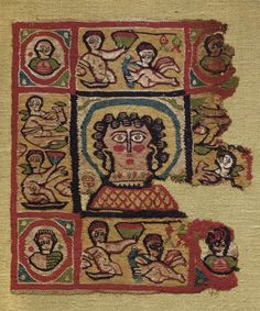 Coptic Textile Panel, Egypt