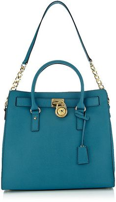 "Michael Kors - love this color!  I sooo want me a ""real deal"" Michael Kors purse & wallet. NO KNOCKOFF THOUGH:)"