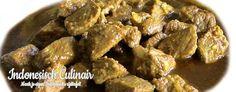 Babi Smoor Pedis - Gesmoord varkensvlees in bouillon - Braised pork broth
