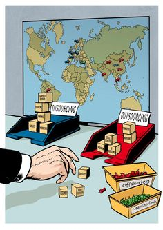 Outsourcing & offshoring by Erik Kriek (Supply Chain Movement 2008) #sourcing #procurement