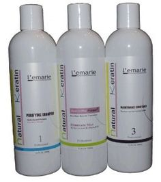 L'emarie Brazilian Keratin Treatment 3 Pc. Hair Kit 12oz #hairloss #haircare         including treated hair (clear, dyed or permed)      softens and revitalizes wavy, dry or mistreated hair.      Greatly improve the state of the hair.      Penetrate into the hair shaft and cause long-lasting moisture. It also gives the hair body, shine and bounce, as well as helps repair damaged hair.      Increases shine and reduces frizz