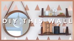 Actually can't believe that this accent wall cost us under $30 to complete! It's also super temporary so it can be peeled off if you are renting or are in a ...