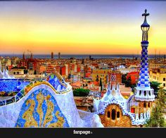 Parco Guell, Barcellona - Una fiaba realizzata dallo stile unico e irripetibile di Gaudì